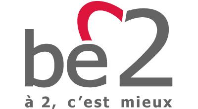 be 2 logo