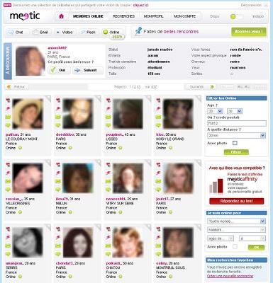 profil meetic